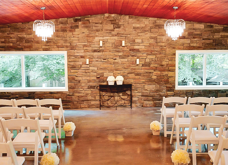 Wedding, party and events Lakeside Venue Spartanburg, South Carolina